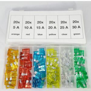 FD-6037 Standaard steekzekeringen assortiment (120 delig)-0