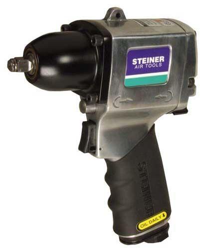 """STEINER SR1202P Kleine 3/8""""slagmoersleutel (3/8"""" en 250 Nm)-0"""