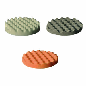 Spons wafelstructuur Ø150mm (extra soft tot medium)-0