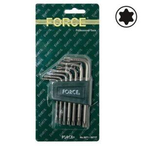 FORCE 5071 Haakse Torx sleutelset 7 delig-0