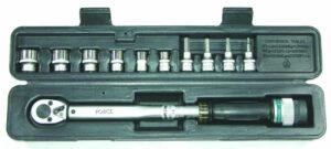 """FORCE 64701L Momentsleutel 3/8"""" (19 - 110 Nm) met doppen-0"""