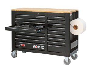 SONIC 764408 S14 gereedschapswagen gevuld (644 delig) -0