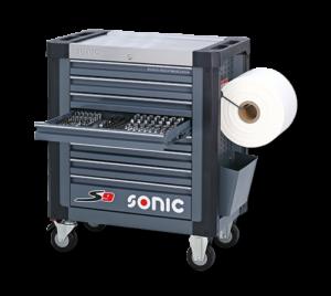 Sonic S9 gereedschapswagen gevuld (337 delig) -0