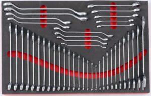 FORCE F5421 Foam Sleutelset 42 delig-0
