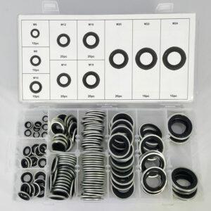 FD-2241 Olie plug ringen assortiment - 150 delig-0