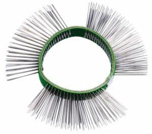 Borstelband 11mm, fijn (groen) - DELTACH-0