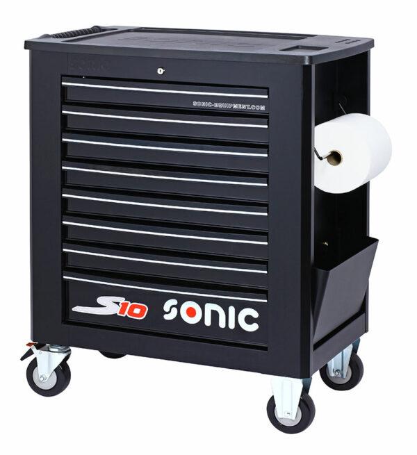 SONIC 4730918 Gereedschapswagen S10 zwart leeg-0