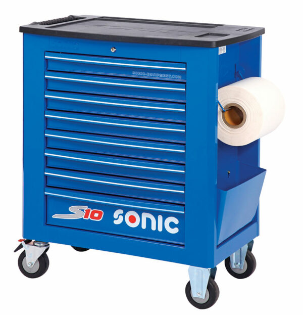 SONIC 4730938 Gereedschapswagen S10 blauw leeg-0