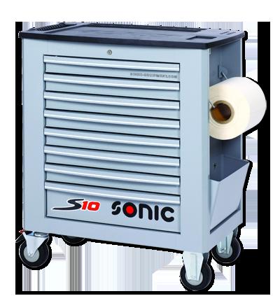 SONIC 4730948 Gereedschapswagen S10 grijs leeg-0