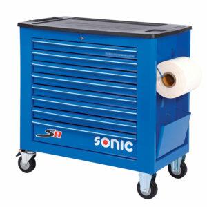 SONIC 4731138 Gereedschapswagen S11 Jumbo blauw leeg-0