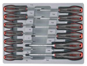 FORCE 2137T Schroevendraaierset Resistorx 13 delig-0