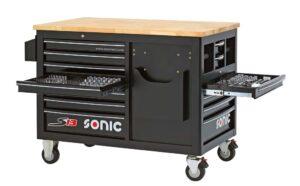 SONIC 754007 Gereedschapswagen S13 gevuld (540 delig)-0