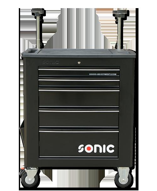 SONIC 4733115 Gereedschapswagen met 5 laden (leeg)-0