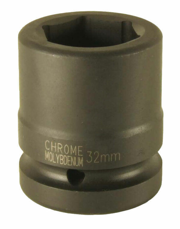 """1"""" Krachtdoppen 6-kant, kort (17mm t/m 90mm) Steiner-0"""