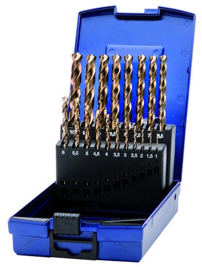 Spiraalborenset Cobalt 1,0mm t/m 10,0mm - Deltach-0