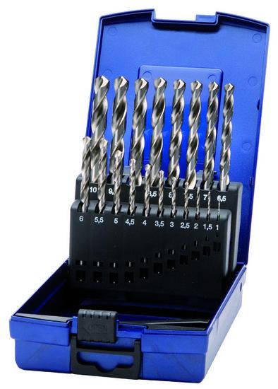 Spiraalborenset 1,0mm t/m 10,0mm - Deltach-0