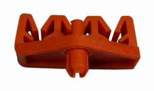 Remleidingclip triple 4,75mm - 6,35mm-0