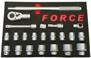 "Force 3/4"" XL Doppencombinatie set 21 delig - F6213-0"