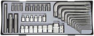 FORCE T4411 Torx combinatieset bitten & doppen 41 delig-0