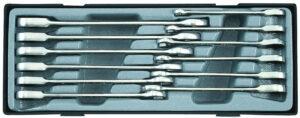 FORCE T51210 Steek-ratelsleutelset 12 delig-0