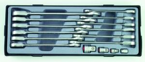 FORCE T5164 Steek-ratelsleutelset 16 delig-0
