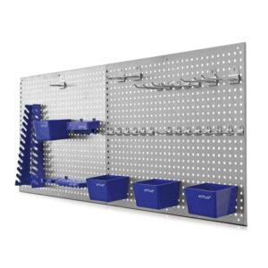 ERBA 6601 Metalen Gereedschapswand met accessoire-0