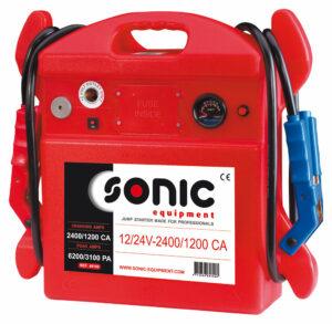 SONIC 48109 Booster portable 12/24V 2400-1200CA-0