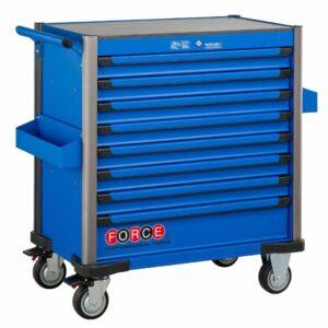 FORCE 10318B-365 Jumbo serie gereedschapswagen gevuld (365 delig) Blauw-0