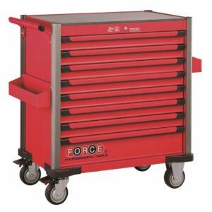 FORCE 10318R-365 Jumbo serie gereedschapswagen gevuld (365 delig) Rood-0