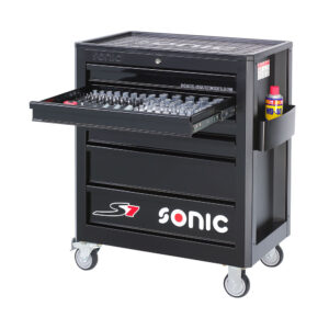 SONIC 714040 Gereedschapswagen S7 (140 delig)-0