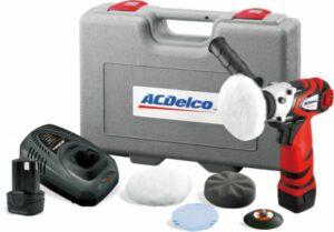 AC DELCO ARS1210-1 (75 mm) Mini Polijstmachine Li-ion 10.8v - Met accessoires (1 accu)-0
