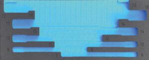DELTACH 207905 FOAM module (leeg) tbv 207000 (kniesleutels)-0