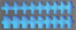 """DELTACH 121905 FOAM module (leeg) tbv 120018 (1/2"""" doppenset)-0"""