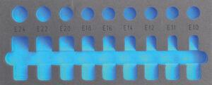 "DELTACH 126905 FOAM module (leeg) tbv 126000 (1/2"" doppenset E-torx)-0"