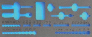 """DELTACH 140905 FOAM module (leeg) tbv 140057 (1/4"""" doppenset)-0"""