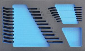 DELTACH 201905 FOAM module (leeg) tbv 201000 (steekringsleutels)-0