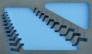 DELTACH 203905 FOAM module (leeg) tbv 203000 (ringsleutelset gebogen)-0