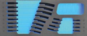 DELTACH 212905 FOAM module (leeg) tbv 212000 (steekringratel sleutels)-0