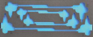 DELTACH 315905 FOAM module (leeg) tbv 315000 (F-sleutels inbus)-0