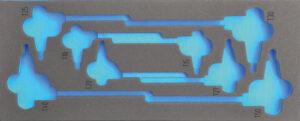 DELTACH 316905 FOAM module (leeg) tbv 316000 (F-sleutels torx)-0