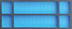 DELTACH 900918 Acc. module leeg FOAM (M), 6 vakken-0
