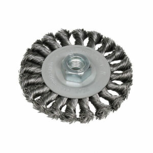 DELTACH 735351 Schijfborstel Ø100mm, M14, rpm 12.500 (gevlochten)-0
