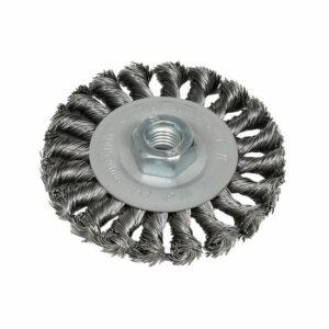 DELTACH 735353 Schijfborstel Ø115mm, M14, rpm 12.500 (gevlochten)-0