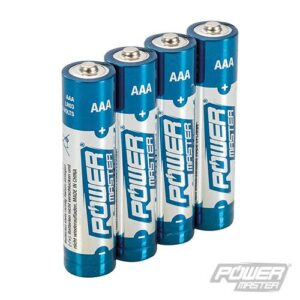 AAA super alkaline batterij LR03, 4 stuks-0
