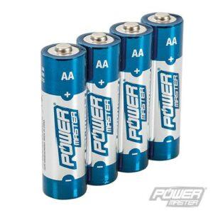 AA super alkaline batterij LR6, 4 stuks-0