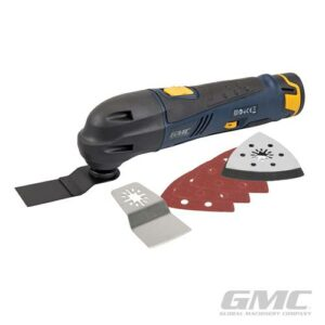 GMC GOMT12 12 V oscillerende Multitool-0