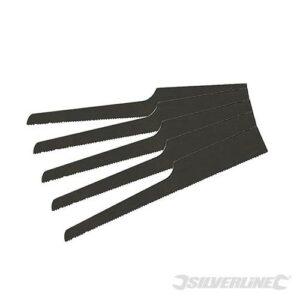 SILVERLINE 633549 Zaagbladen pneumatische carrosseriezaag 5 stuks-0