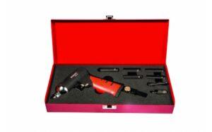 """RODAC RC630BC Slagmoersleutel 1/4"""" in koffer met accessoires-0"""