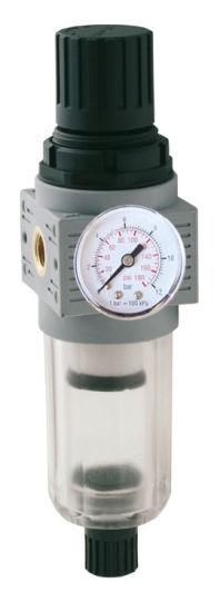 """STEINER SL14520 Waterafscheider met drukregelaar 1/4"""" (550 l/min)-0"""