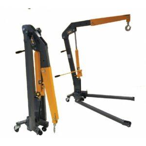 WINNTEC Y440102 Werkplaatskraan opvouwbaar professioneel, 1000 kg-0